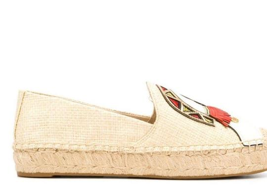 Tory Burch Natural/Multi Flats Image 3