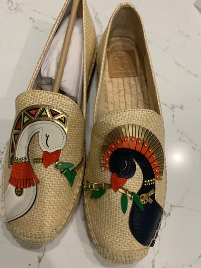 Tory Burch Natural/Multi Flats Image 4
