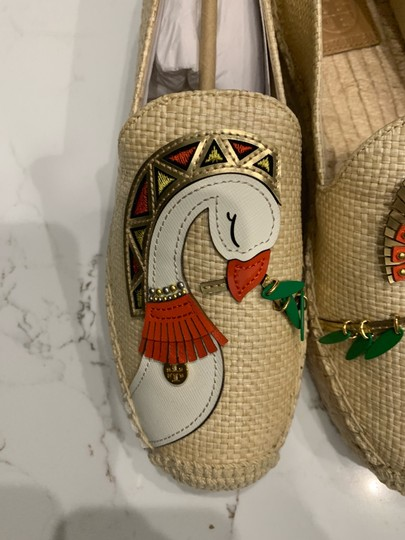 Tory Burch Natural/Multi Flats Image 6