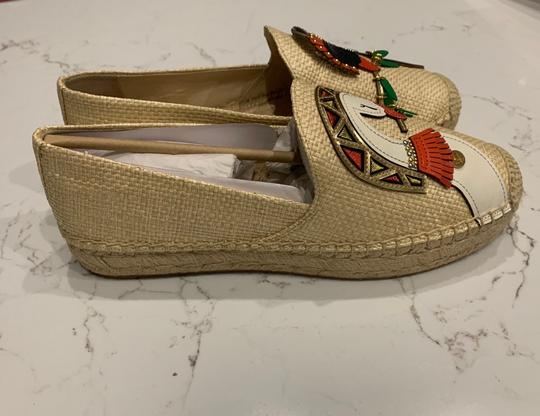 Tory Burch Natural/Multi Flats Image 7