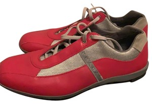 Prada Red and silver Athletic