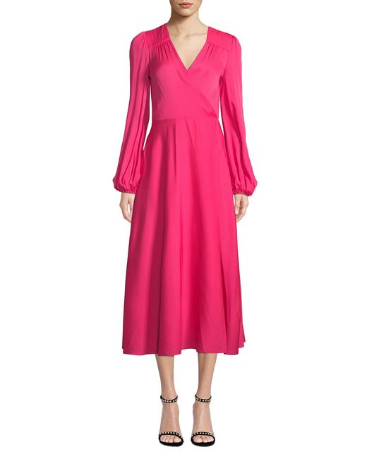 Pink Maxi Dress by MILLY Image 1