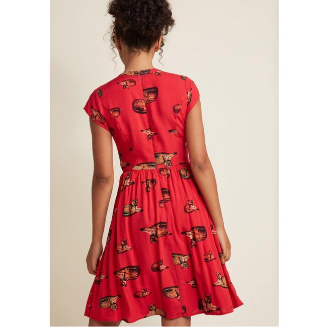 Modcloth short dress Red on Tradesy Image 1