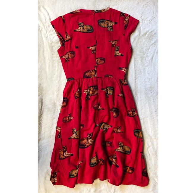 Modcloth short dress Red on Tradesy Image 7