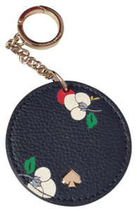 Kate Spade NWT Kate Spade Floral Leather Key Fob Keychain Bag Charm WORU0282 $39 w/ dust bag! Gift Box is Avail and free but upon request!
