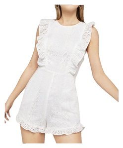 BCBGeneration White Eyelet Dress