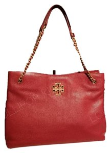 Tory Burch Tote in Red stone