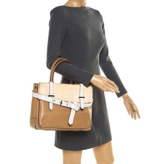 Reed Krakoff Leather Tote in Brown Image 1