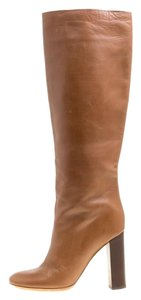 Chloé Leather Brown Boots