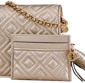 Tory Burch NWT Tory Quilted Card Holder
