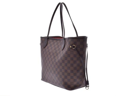 Louis Vuitton Ebene Neverfull Mm Tote in Brown / Damier Canvas Image 1