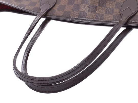 Louis Vuitton Ebene Neverfull Mm Tote in Brown / Damier Canvas Image 2