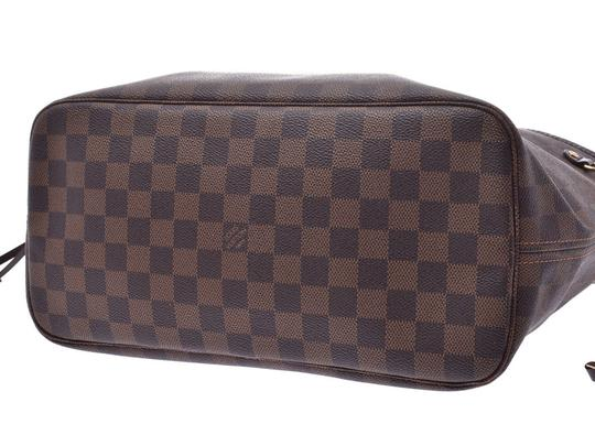 Louis Vuitton Ebene Neverfull Mm Tote in Brown / Damier Canvas Image 4