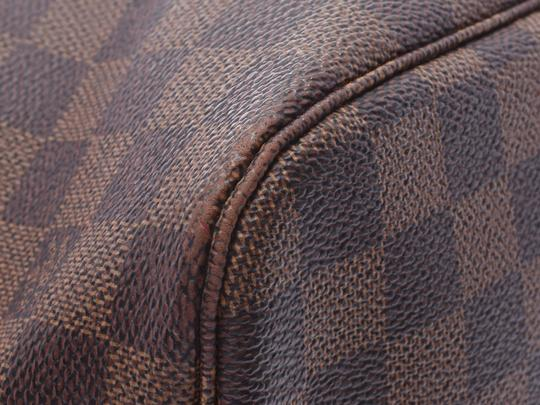 Louis Vuitton Ebene Neverfull Mm Tote in Brown / Damier Canvas Image 5