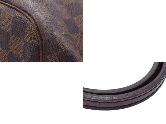Louis Vuitton Ebene Neverfull Mm Tote in Brown / Damier Canvas Image 6