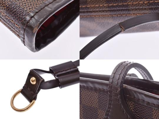 Louis Vuitton Ebene Neverfull Mm Tote in Brown / Damier Canvas Image 7