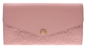 Louis Vuitton Rose Ballerine Empreinte Portefeuille Wallet