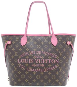 Louis Vuitton Lv Neverfull Mm Monogram Shoulder Bag