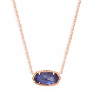 Kendra Scott Navy Dusted Glass Elisa