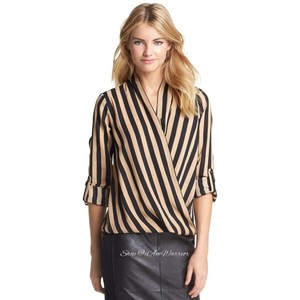 Pleione Top black, tan