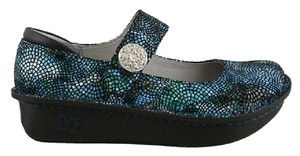 Alegria by PG Lite Black and Blue Mules