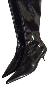 Fendi Black Patent leather Boots