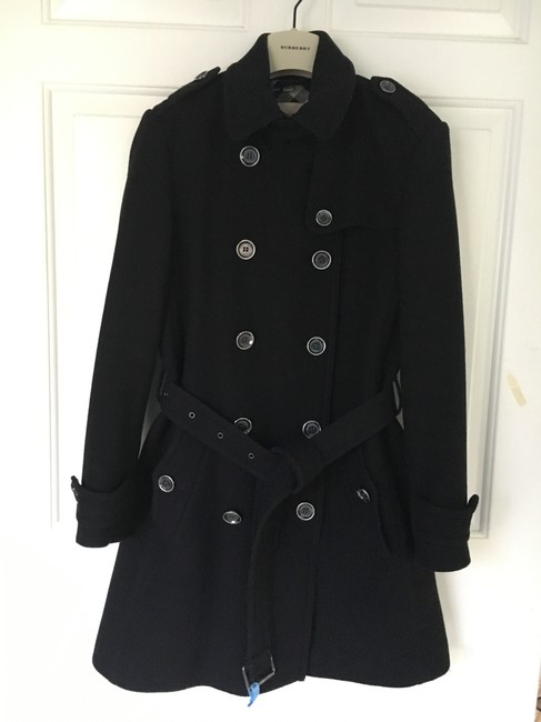 Burberry Wool Cashmere Balmoral Trench Coat Image 1