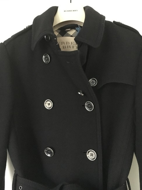 Burberry Wool Cashmere Balmoral Trench Coat Image 11