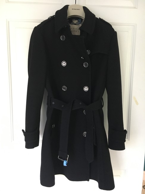 Burberry Wool Cashmere Balmoral Trench Coat Image 2
