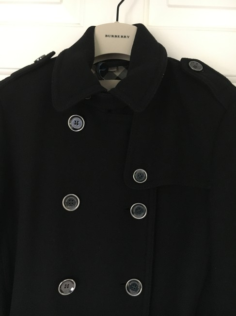Burberry Wool Cashmere Balmoral Trench Coat Image 3