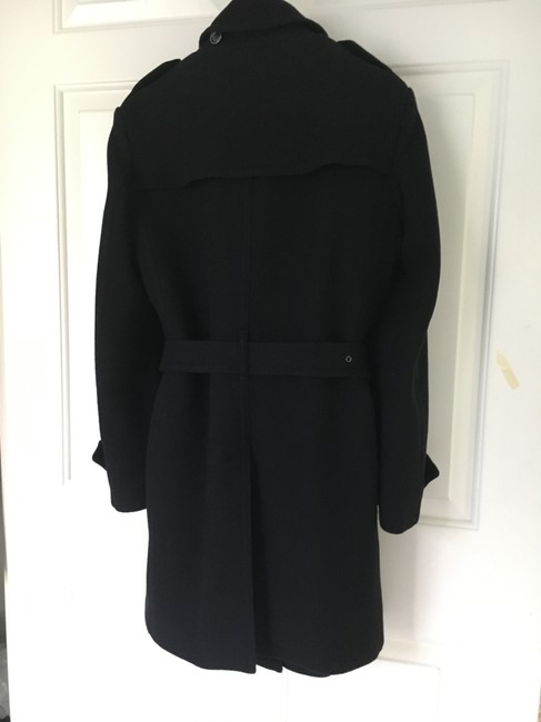 Burberry Wool Cashmere Balmoral Trench Coat Image 6