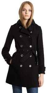 Burberry Wool Cashmere Balmoral Trench Coat