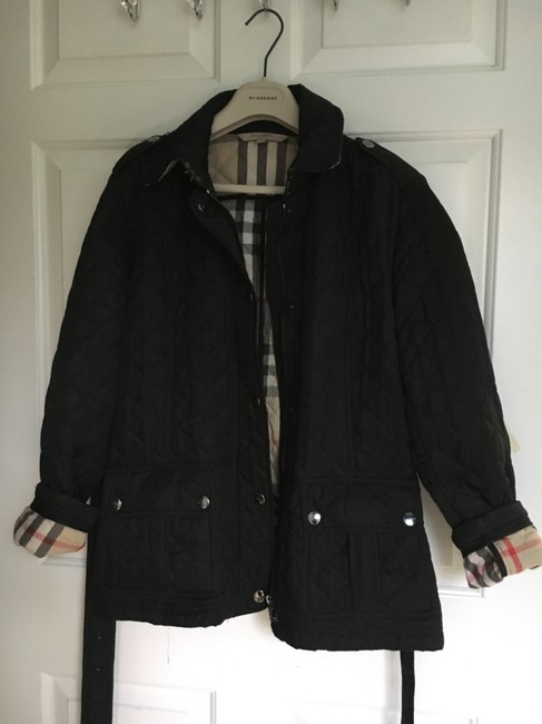 Burberry Quilted Trench Coat Image 1