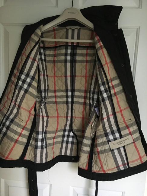 Burberry Quilted Trench Coat Image 10