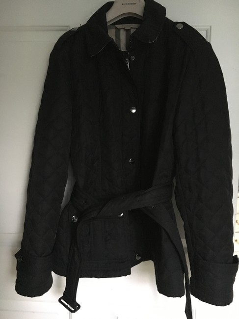 Burberry Quilted Trench Coat Image 2