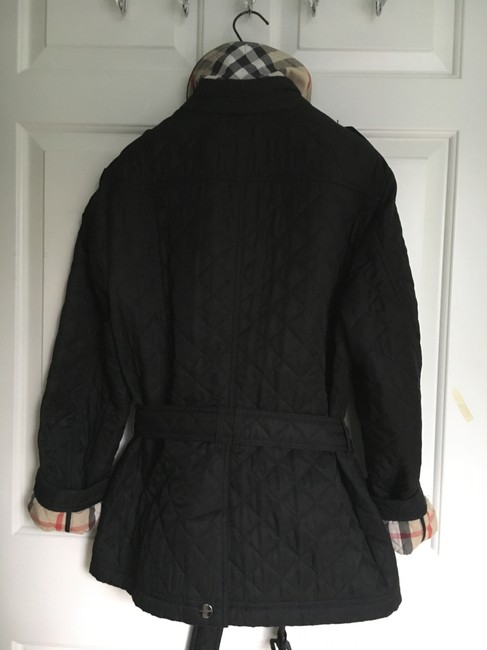 Burberry Quilted Trench Coat Image 4
