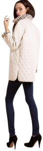 Burberry Quilted Barn Classic Cream Jacket