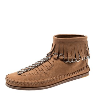 Alexander Wang Leather Brown Boots