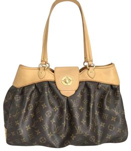 Louis Vuitton Lv Boetie Gm Monogram Canvas Boetie Gm Lv Monogram Tote in Brown