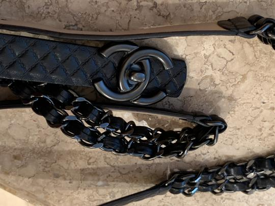 Chanel Black Quilted Lambskin Leather and Gunmetal Chain Image 1