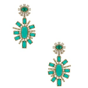 Kendra Scott Kendra Scott * Glenda Statement Studs * Emerald