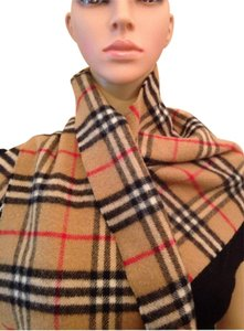 Burberry Auth Burberrys London Lambswool Scarf