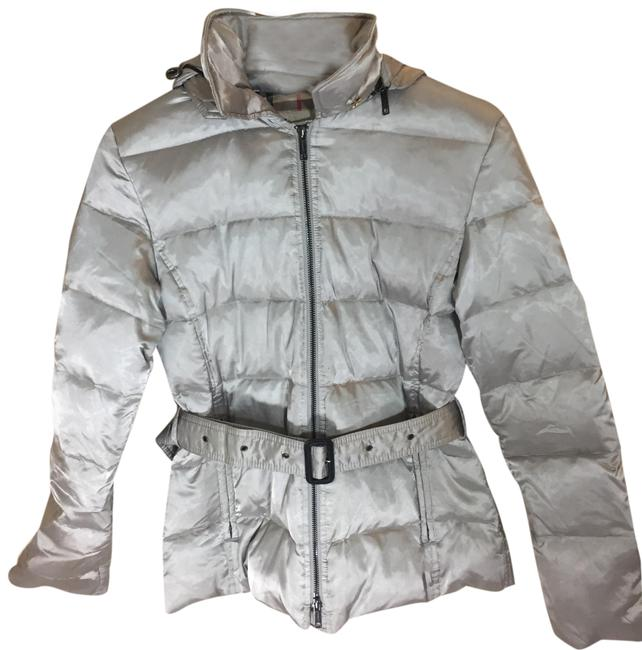 Item - Silver Goose Down Puffer Jacket Coat Size 2 (XS)