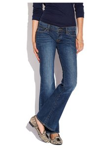 Lucky Brand Low Rise Hipster Retro Flare Leg Jeans-Medium Wash