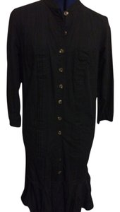 black Maxi Dress by Thakoon Shirt Pleated Ruffle