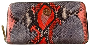 Tory Burch snakeskin wallet