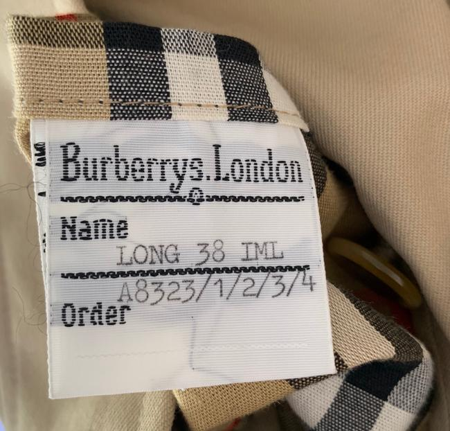 Burberry Waterproof Trench Removable Lining Raincoat Image 11