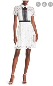 Nanette Lepore Lace Fit And Flare Dress