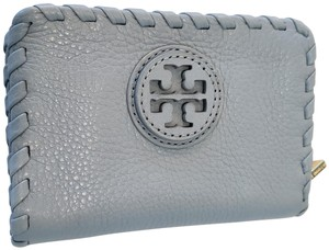 Tory Burch amanda zip continental wallet mercury