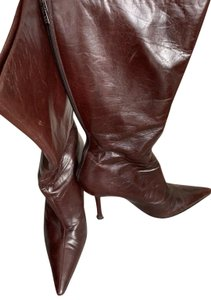 Jimmy Choo Deep burgundy Boots